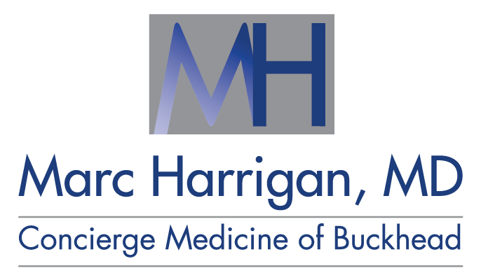 Marc Harrigan, MD Logo